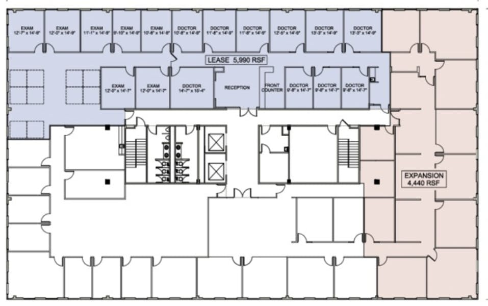 Suite 610 / 10,298 SF/ Negotiable