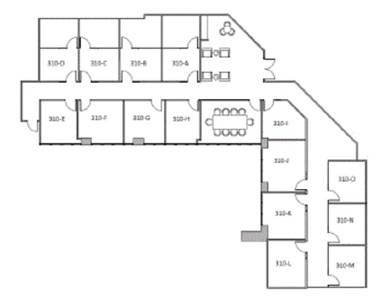 Suite 310.WS  / 4,552 SF/ Negotiable