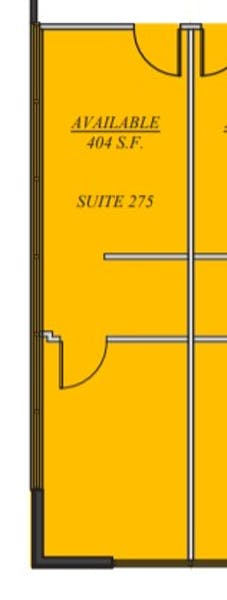 Suite 275 / 404 SF/ Negotiable