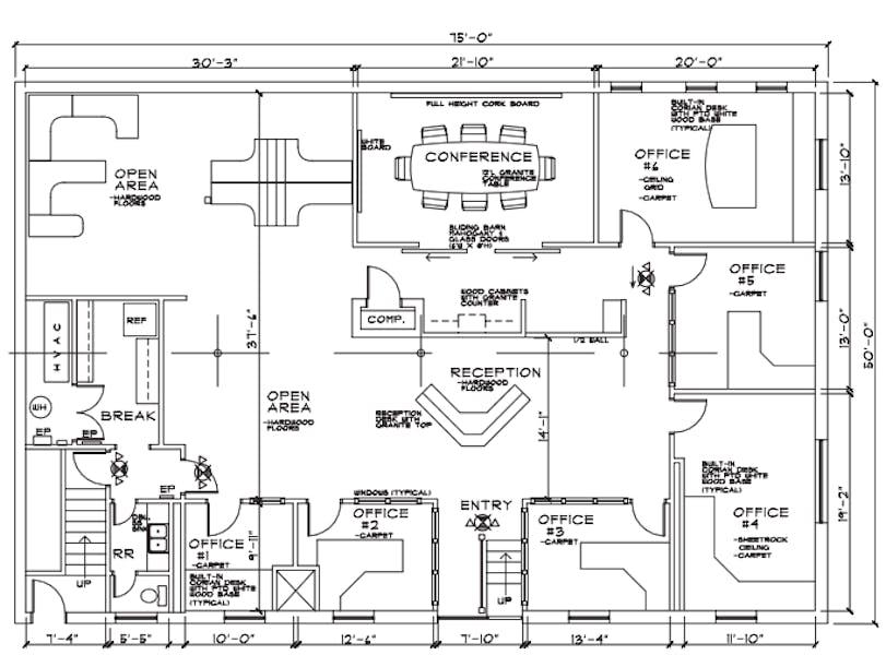 Suite 3235 Cains Hill Place / 3,500 SF/ $6,971