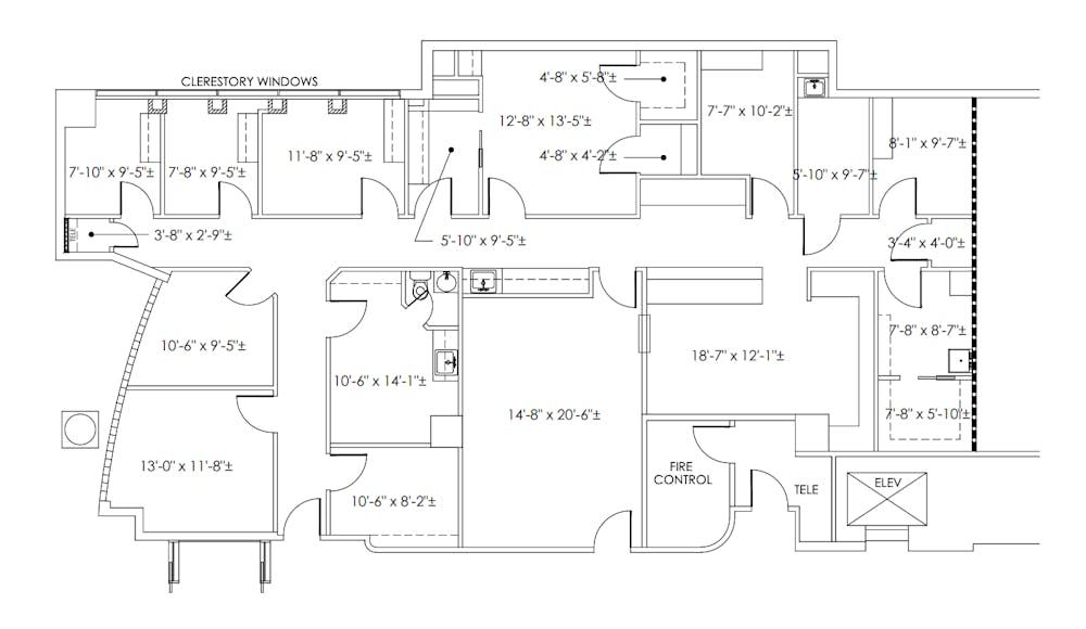 Suite 100 / 2,889 SF/ $8,908