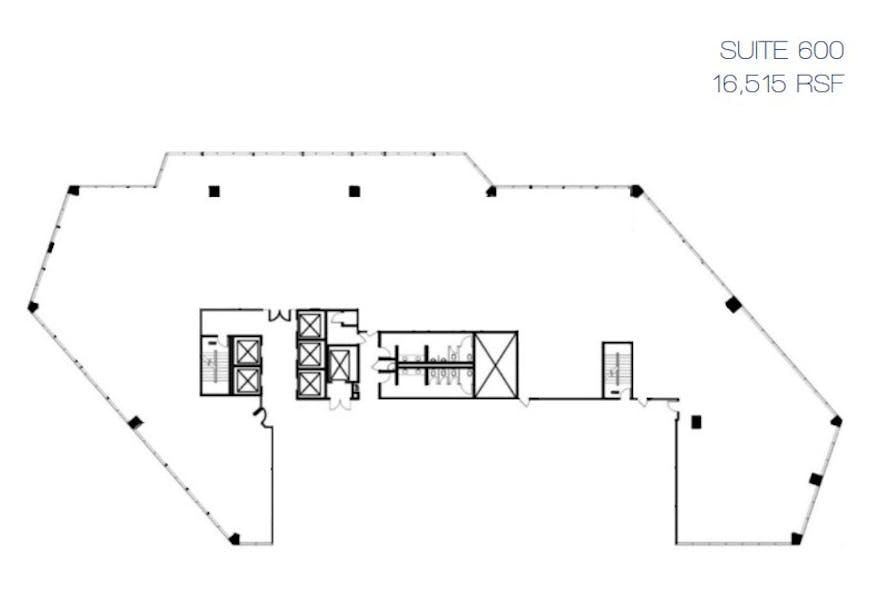 Suite 600 / 16,515 SF/ $63,762