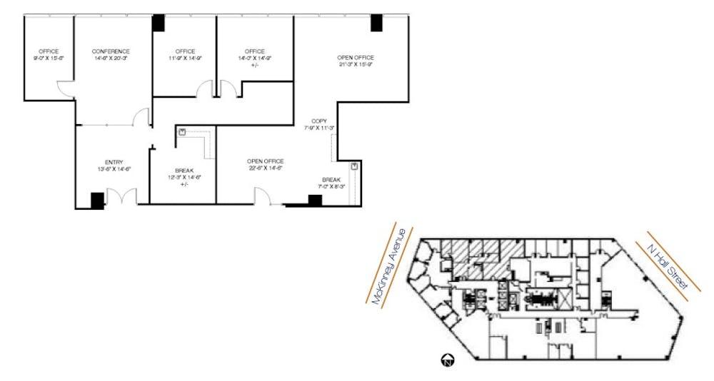 Suite 730/740 / 2,668 SF/ $10,301