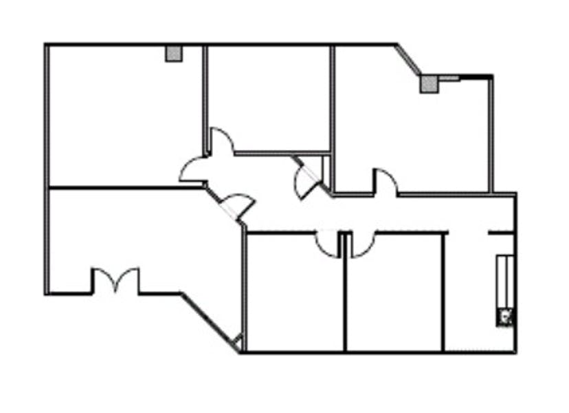 Suite 608 / 2,325 SF/ $2,519 + Expenses