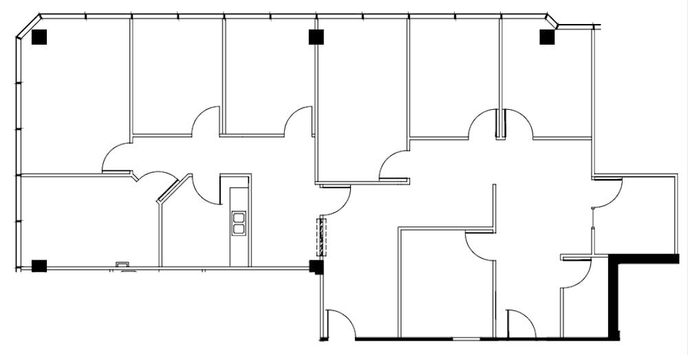 Suite 300 / 2,351 SF/ $3,429