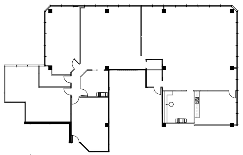 Suite 335 / 5,133 SF/ $7,486