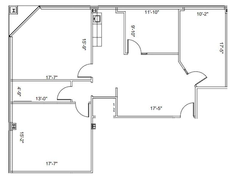 Suite 130 / 1,581 SF/ $2,767