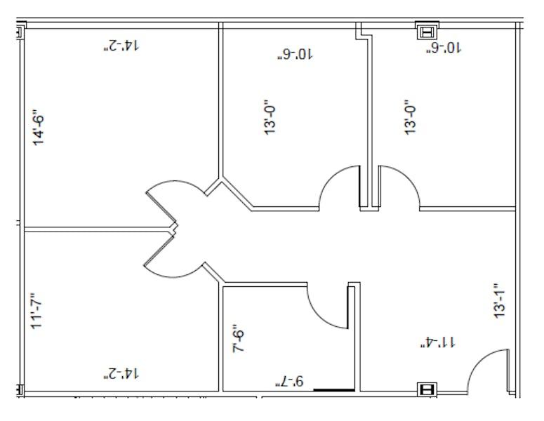 Suite 180 / 1,144 SF/ $2,002