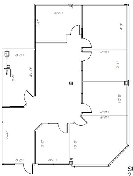 Suite 270 / 2,329 SF/ $4,076