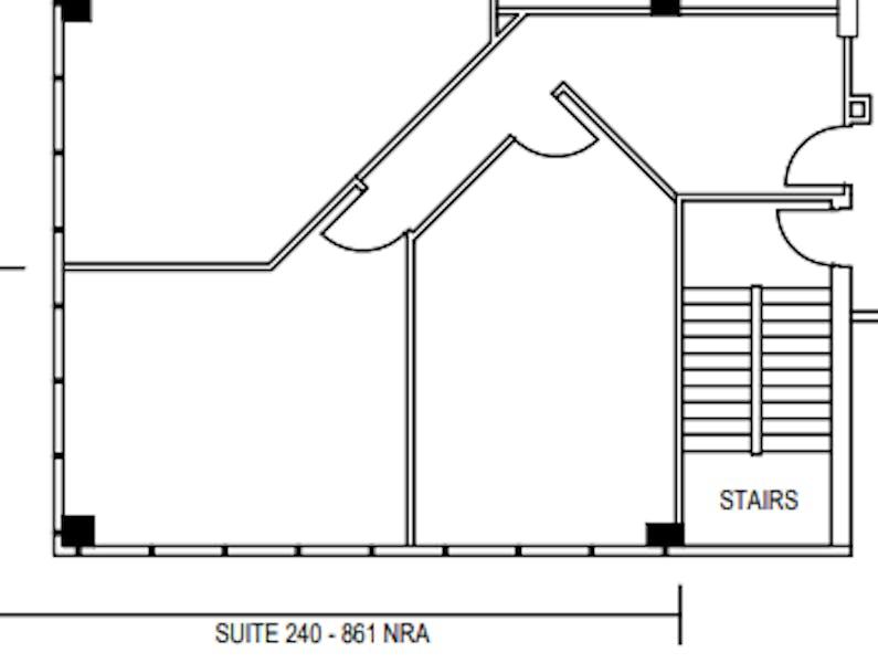 Suite 240 / 1,194 SF/ $2,400